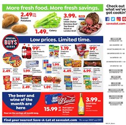 Beer deals in the Save a Lot weekly ad in Pontiac MI