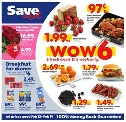 Valentine's Day deals in the Save a Lot weekly ad in New York
