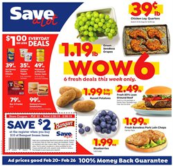 Save a Lot deals in the Philadelphia PA weekly ad