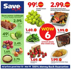Grocery & Drug deals in the Save a Lot weekly ad in Erie PA