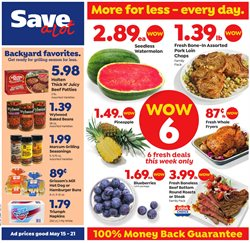 Save a Lot deals in the Houma LA weekly ad