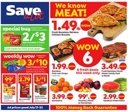 Save a Lot deals in the Lima OH weekly ad