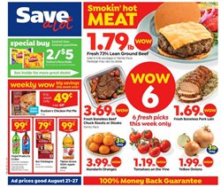 Grocery & Drug deals in the Save a Lot weekly ad in Chicago IL