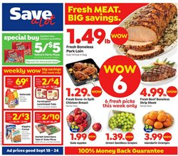 Save a Lot deals in the Washington-DC weekly ad
