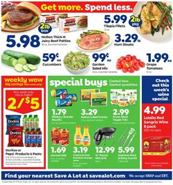 Grocery & Drug deals in the Save a Lot weekly ad in Johnstown PA
