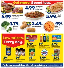 Save a Lot deals in the Evansville IN weekly ad