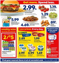 Save a Lot deals in the Charlotte NC weekly ad