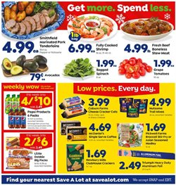 Grocery & Drug deals in the Save a Lot weekly ad in Saint Petersburg FL
