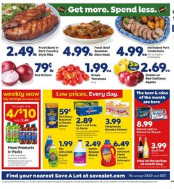 Save a Lot deals in the Huntington WV weekly ad