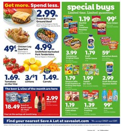 Grocery & Drug offers in the Save a Lot catalogue in Amherst OH ( 1 day ago )
