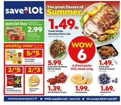Grocery & Drug offers in the Save a Lot catalogue in Saint Peters MO ( Expires today )