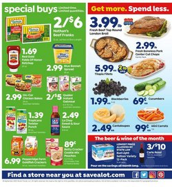 Grocery & Drug offers in the Save a Lot catalogue in New Orleans LA ( Expires today )