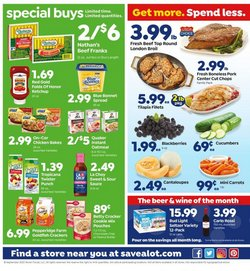 Grocery & Drug offers in the Save a Lot catalogue in Youngstown OH ( Expires today )
