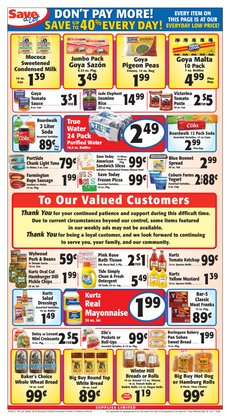 Grocery & Drug offers in the Save a Lot catalogue in North Dartmouth MA ( 3 days left )