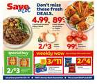 Grocery & Drug offers in the Save a Lot catalogue in Geneva NY ( Expires tomorrow )
