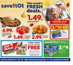 Grocery & Drug offers in the Save a Lot catalogue in Chesterfield MO ( Expires tomorrow )
