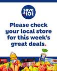 Save a Lot catalogue ( 3 days left )