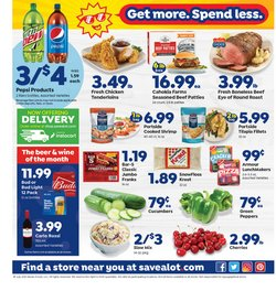 Grocery & Drug deals in the Save a Lot catalog ( Expires today)