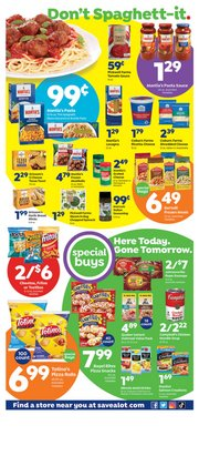 Grocery & Drug deals in the Save a Lot catalog ( Published today)