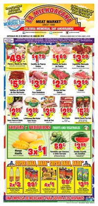 Grocery & Drug deals in the La Michoacana weekly ad in Dallas TX
