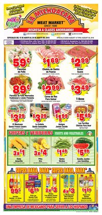 La Michoacana deals in the Lufkin TX weekly ad