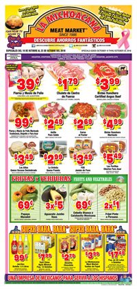 Grocery & Drug deals in the La Michoacana weekly ad in Sugar Land TX