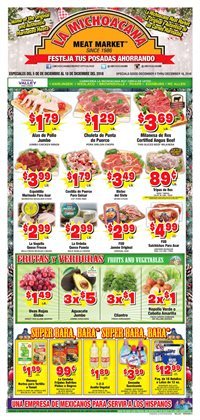 La Michoacana deals in the Royal Oak MI weekly ad