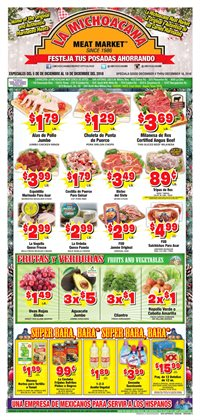 La Michoacana deals in the San Antonio TX weekly ad