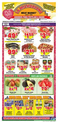 Grocery & Drug deals in the La Michoacana weekly ad in Humble TX