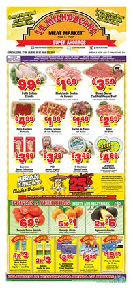 La Michoacana deals in the Fort Worth TX weekly ad