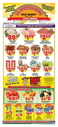 La Michoacana deals in the Austin TX weekly ad