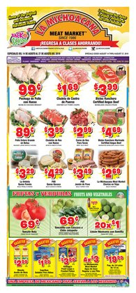 Grocery & Drug deals in the La Michoacana weekly ad in Mesquite TX