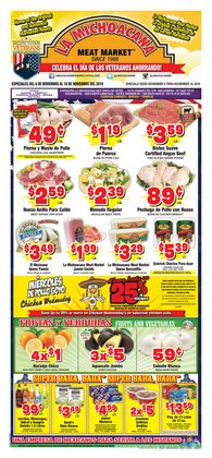 Grocery & Drug deals in the La Michoacana weekly ad in Austin TX
