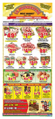 La Michoacana deals in the Houston TX weekly ad