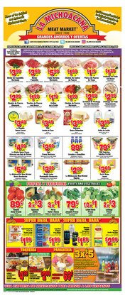 Grocery & Drug offers in the La Michoacana catalogue in San Antonio TX ( 6 days left )