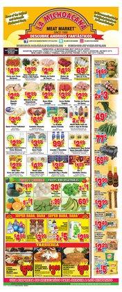 Grocery & Drug deals in the La Michoacana catalog ( Expires tomorrow)