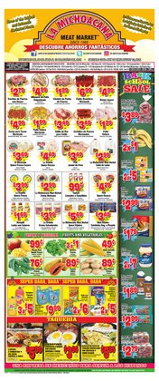 Grocery & Drug deals in the La Michoacana catalog ( Published today)
