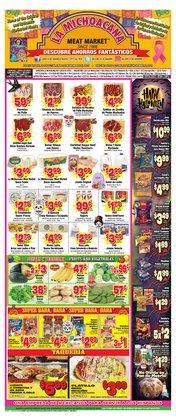 Grocery & Drug deals in the La Michoacana catalog ( 11 days left)