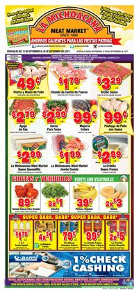 La Michoacana deals in the South Houston TX weekly ad