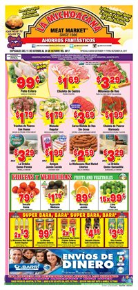 Grocery & Drug deals in the La Michoacana weekly ad in Houston TX