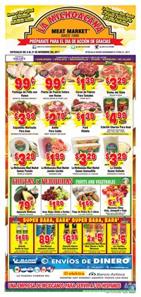 La Michoacana deals in the Brownsville TX weekly ad