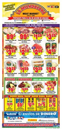 La Michoacana deals in the Oklahoma City OK weekly ad
