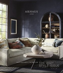 Home & Furniture deals in the Arhaus catalog ( 13 days left)