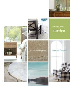 Textiles deals in the Arhaus weekly ad in Sterling VA