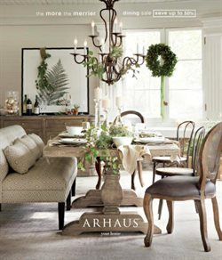 Arhaus deals in the New York weekly ad