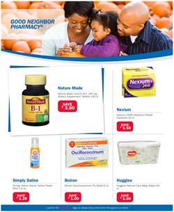 Huggies deals in the Good Neighbor Pharmacy weekly ad in Harrisburg PA