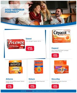 Tablet deals in the Good Neighbor Pharmacy weekly ad in Lancaster PA