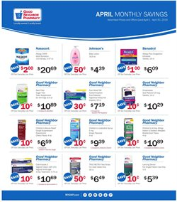 Frozen deals in the Good Neighbor Pharmacy weekly ad in Stone Mountain GA