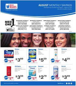 Good Neighbor Pharmacy catalogue in Mesquite TX ( 17 days left )