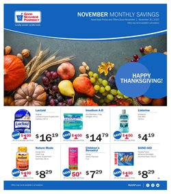 Good Neighbor Pharmacy catalogue ( Expires today )
